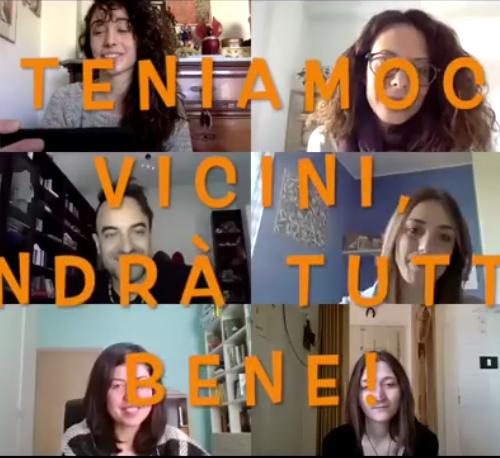 TENIAMOCI VICINI, ANDRÀ TUTTO BENE!